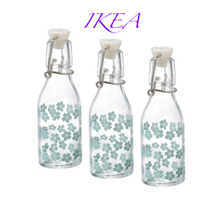 イケア(IKEA)のKORKEN コルケン ボトル ふた付き 1.5 l(容器)