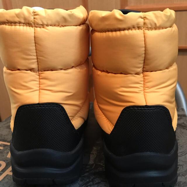 THE NORTH FACE(ザノースフェイス)の値下げ!THE NORTH FACE キッズ スノーブーツ  21cm イエロー キッズ/ベビー/マタニティのキッズ靴/シューズ(15cm~)(ブーツ)の商品写真