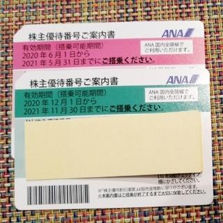 全日空 ANA  株主優待券(航空券)