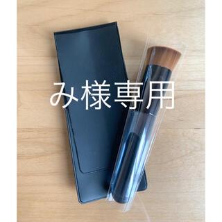 シセイドウ(SHISEIDO (資生堂))の資生堂 ファンデーション ブラシ 131 専用ケース付き(チーク/フェイスブラシ)