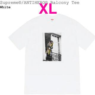 シュプリーム(Supreme)のシュプリーム XL アンタイヒーロー(Tシャツ/カットソー(半袖/袖なし))