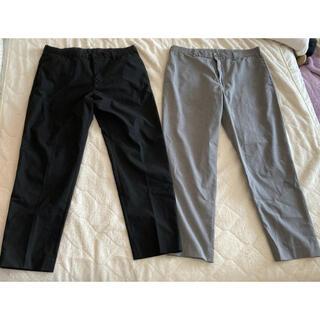 ユニクロ(UNIQLO)の値下げしました スーツ パンツ ズボン スーツパンツ 2本(スラックス/スーツパンツ)