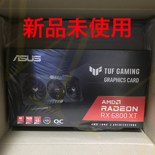 エイスース(ASUS)のグラフィックボード TUF-RX6800XT-O16G-GAMING(PCパーツ)