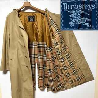 BURBERRY - 希少!バーバリープローサム  リメイク ノバチェック ノーカラーコート