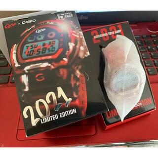 ヒロシマトウヨウカープ(広島東洋カープ)の【新品未使用】広島carp G-SHOCK 2021年モデル カープ(腕時計(デジタル))
