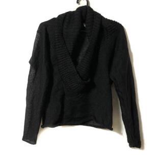 ジャンポールゴルチエ(Jean-Paul GAULTIER)のゴルチエ 長袖セーター サイズ40 M - 黒(ニット/セーター)