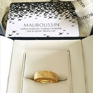 CHAUMET - Mauboussin モーブッサン サロメ K18 YG リング #48