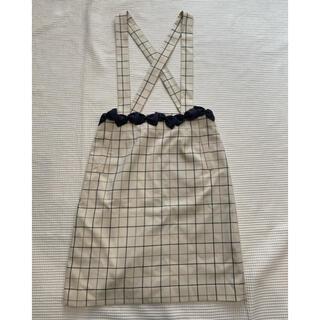 ボンメルスリー(Bon merceie)の可愛い♡Bon mercerie ジャンパースカート サイズ38(ひざ丈スカート)