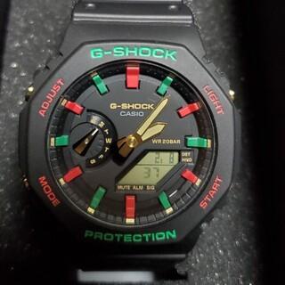 ジーショック(G-SHOCK)の【新品未使用】GA-2100TH-1AJF限定カシオーク(腕時計(デジタル))