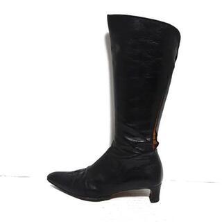 ドリスヴァンノッテン(DRIES VAN NOTEN)のドリスヴァンノッテン ブーツ 36 1/2 黒(ブーツ)