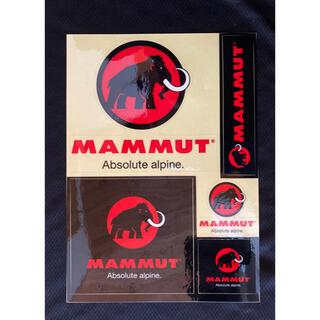 マムート(Mammut)のステッカー(黒)(その他)