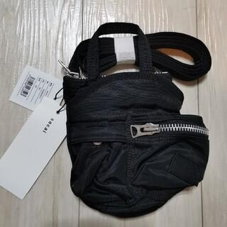 サカイ(sacai)のsacai x PORTER コラボ Pocket Bag Small ブラック(ショルダーバッグ)