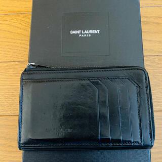 サンローラン(Saint Laurent)の送料込 Saint laurent card case 財布 カードケース(コインケース/小銭入れ)