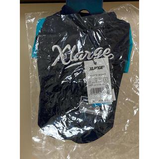 エクストララージ(XLARGE)のエイトマン様専用 XLARGE ネイビー Sサイズ ベースボールシャツ 犬服(犬)