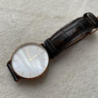 ダニエルウェリントン(Daniel Wellington)のダニエルウェリントン 腕時計 36mm 腕時計  茶色 classic york(腕時計)