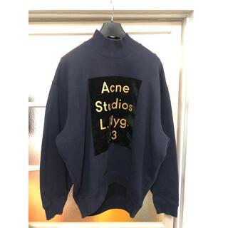 アクネ(ACNE)のAcne Studios ハイネック ロゴ スウェット(トレーナー/スウェット)