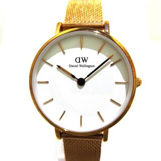 ダニエルウェリントン(Daniel Wellington)のダニエルウェリントン 腕時計 - E28RW15 白(腕時計)
