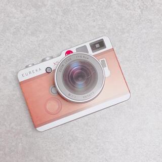 イッツデモ(ITS'DEMO)のエウレカ*カメラ缶(ブラウン)望遠レンズ(菓子/デザート)