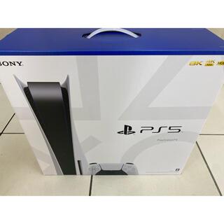 プレイステーション(PlayStation)のPS5 PlayStation5 本体 プレステ5(CFI-1000A01)新品(家庭用ゲーム機本体)