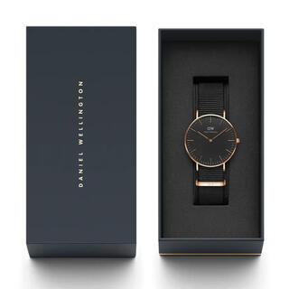 ダニエルウェリントン(Daniel Wellington)の【正規店・箱付き】Daniel Wellington 腕時計(腕時計)