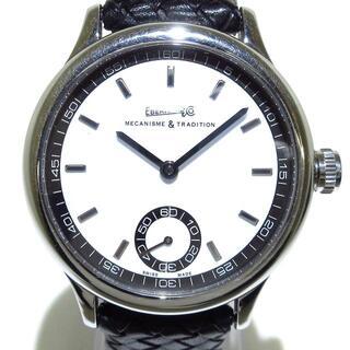 エベラール(EBERHARD)のエベラール 腕時計美品  21020VZ メンズ 白(その他)