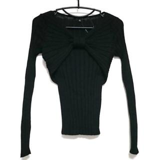 エポカ(EPOCA)のエポカ 長袖セーター サイズ40 M - 黒(ニット/セーター)