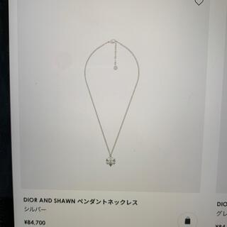 ディオール(Dior)のdiorネックレス(ネックレス)