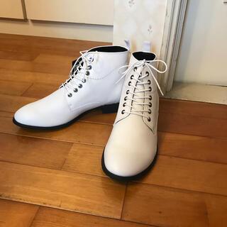 マドラス(madras)の【箱付き新品】マドラスJADE(ジェイド)JDS5517 24.5センチ 白い靴(ブーツ)