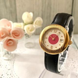 Saint Laurent - 【電池交換済み】Yves Saint Laurent 腕時計 ラウンド ピンク