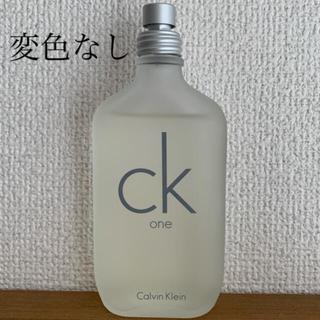 シーケーカルバンクライン(ck Calvin Klein)の値下げ! カルバンクライン CK ONE 100ml オードトワレ シーケーワン(ユニセックス)