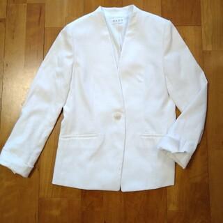 PLST - プラステ リネンブレンドカラーレスジャケット Mサイズ