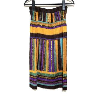プリーツプリーズイッセイミヤケ(PLEATS PLEASE ISSEY MIYAKE)のプリーツプリーズ ロングスカート 3 L美品 (ロングスカート)