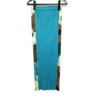 プリーツプリーズイッセイミヤケ(PLEATS PLEASE ISSEY MIYAKE)のプリーツプリーズ ロングスカート 2 M美品 (ロングスカート)