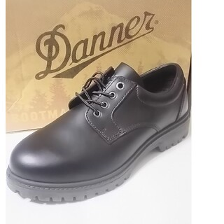 ダナー(Danner)の通称ブラックチェリーン!ダナーDanner新品プレーントゥローファー(ドレス/ビジネス)