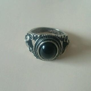 エスニックリング(ブラック)(リング(指輪))