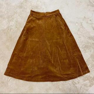 ユニクロ(UNIQLO)のユニクロ コーデュロイスカート(ロングスカート)