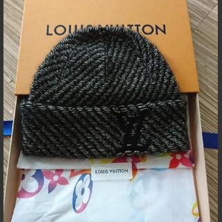 ルイヴィトン(LOUIS VUITTON)のLOUIS VUITTON レディース ニット帽(ニット帽/ビーニー)