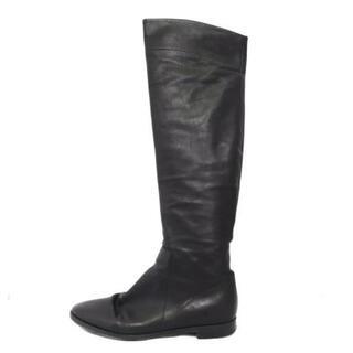 セルジオロッシ(Sergio Rossi)のセルジオロッシ ロングブーツ 36 1/2 黒(ブーツ)