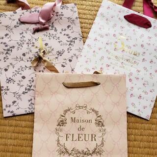 メゾンドフルール(Maison de FLEUR)のメゾンドフルール☆ショッパー新品未使用送料込み(ノベルティグッズ)