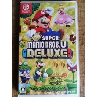 ニンテンドウ(任天堂)の「New スーパーマリオブラザーズ U デラックス Switch マリオスイッチ(家庭用ゲームソフト)
