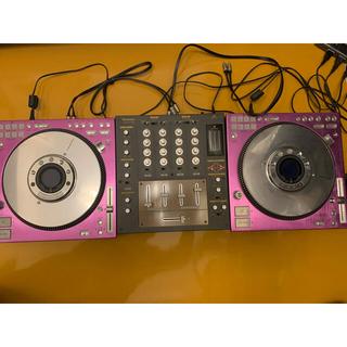 パナソニック(Panasonic)のTechnics SH-MZ1200 + SL-DZ1200×2台(CDJ)