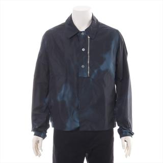 バレンシアガ(Balenciaga)のバレンシアガ  ナイロン 44 ブラック×ネイビー メンズ その他アウター(その他)