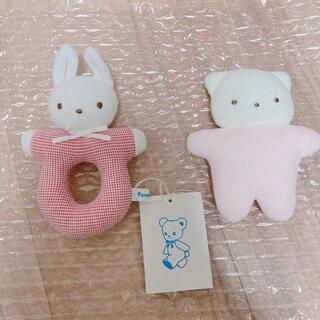 familiar - ファミリア  赤ちゃんガラガラおもちゃセット