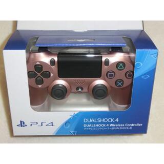 プレイステーション4(PlayStation4)の新品 SONY PS4 純正 コントローラー DUALSHOCK4 ローズ(その他)