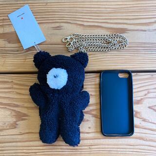 メリージェニー(merry jenny)のmerry jenny <<6/6S/7対応>>くまさんiPhoneケース(iPhoneケース)