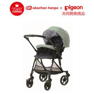 Pigeon - ランフィリノン3 ボタニカルズーピジョン ベビーカー