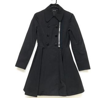 ミュウミュウ(miumiu)のミュウミュウ コート サイズ40 M - 黒(その他)