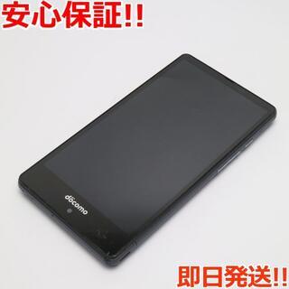 アクオス(AQUOS)の美品 SH-04G AQUOS EVER ブラック (スマートフォン本体)