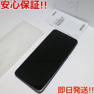 ゼンフォン(ZenFone)の美品 SIMフリー ZenFone 5Q ブラック 本体 白ロム (スマートフォン本体)