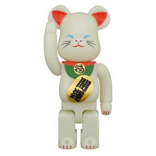 メディコムトイ(MEDICOM TOY)のBE@RBRIC 招き猫 蓄光 弐 400% ベアブリック(その他)